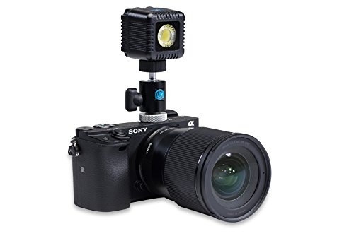 Lume Cube - Portable LED Light Kit for On-Camera Lighting for Photography & Video, Includes LED Light + DSLR Camera Mount for Sony, Canon, Nikon, Fuji, Panasonic