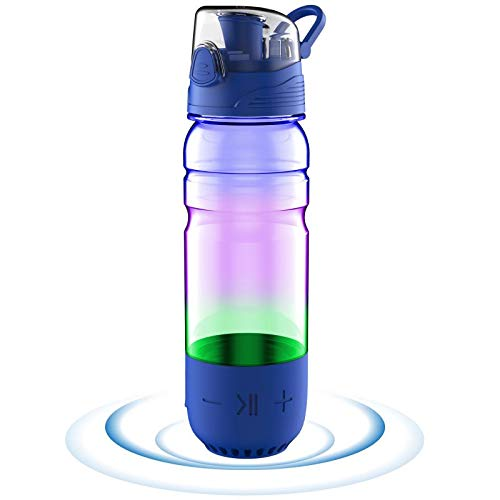 ICEWATER 3-in-1 Stainless Steel Smart Water Bottle(Glows to Remind You to Drink More...