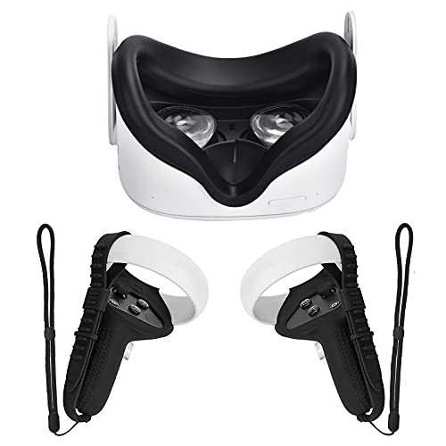 Cubierta Xiaoge Compatible Con Oculus Quest 2 - Black