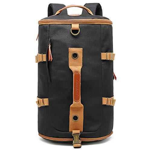 CoolBELL Sport Backpack Convertible Bag Shoulder Bag Briefcase 42L Travel Knapsack Light-Weight Water-Resistant Backpack Sport Duffel Fits 17.3 Inch Laptop for Men/Women (Black) from CoolBELL