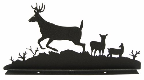 Deer Doe Buck Mailbox Topper