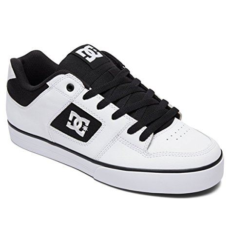 White Pure Black White 300660 Shoes Zapatos DC para Hombre vnaqY41
