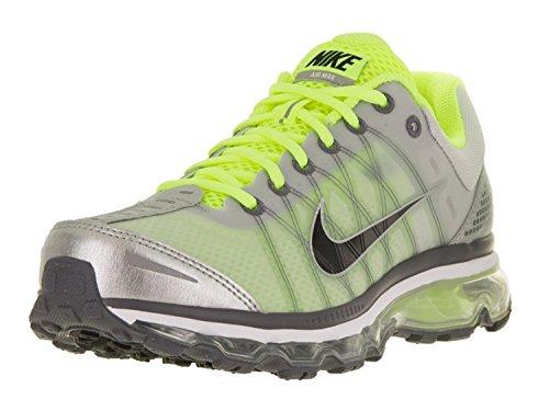 Nike AIR MAX 2009 mens running-shoes 486978-017_8.5 - NEUTRAL GREY/BLACK-VOLT-WHITE, Grigio neutro/nero/volt/bianco, 42 D(M) EU/7.5 D(M) UK