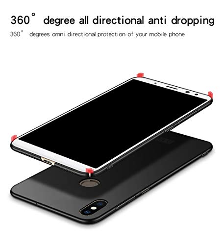 SPAK Xiaomi Mi 6X,Xiaomi Mi A2 Case, Hard PC Back Cover