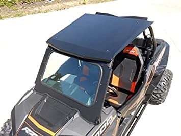 Polaris RZR 1000 DOT Glass Windshield by Bad Dawg 693-5439-00