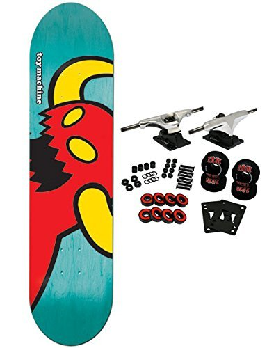 Toy Machine Complete Pro Skateboard VICE Monster (Assorted Colors) ()
