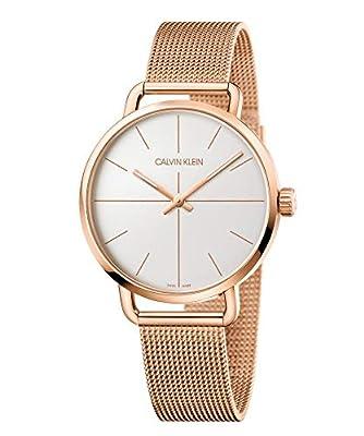 Calvin Klein Unisex Adult Analogue-Digital Quartz Watch with Stainless Steel Strap K7B21626