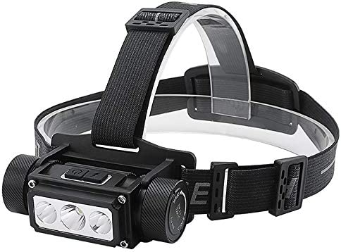 yywl led headlamp Super Bright 3 Led L2 Headlamp Flashlight Usb Rechargeable Lantern Waterproof Portable Camping Head Torches Light