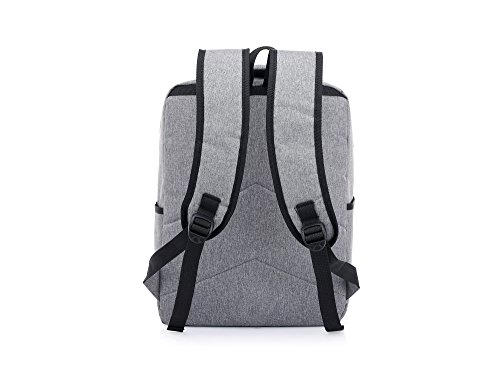 DENGXIHE - Bolso mochila  para mujer gris claro