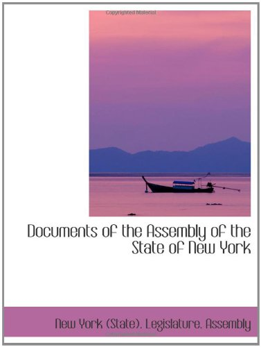 Download Documents of the Assembly of the State of New York pdf