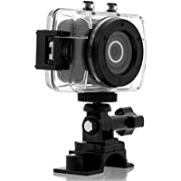 Slick VC855BK HD Sports Action Video Cam Kit With Waterproof Case, Helmet Mount & Bike Mount