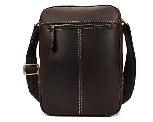 Bag Shoulder Crossbody Horse First Men's Brown Of Skin Ju Leather Layer Crazy The Retro sheng qtI4H7xEw
