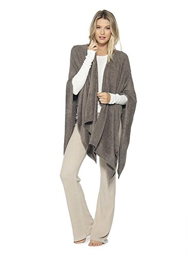 BarefootDreams Bamboo Chic Lite Weekend Wrap, Color: Cocoa