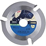 Grinder Wood Cutting Blade Disc,Carbide Carving Discs for Angle...