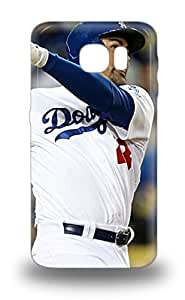 Slim New Design Hard 3D PC Case For Galaxy S6 3D PC Case Cover MLB Los Angeles Dodgers Adrian Gonzalez #44 ( Custom Picture iPhone 6, iPhone 6 PLUS, iPhone 5, iPhone 5S, iPhone 5C, iPhone 4, iPhone 4S,Galaxy S6,Galaxy S5,Galaxy S4,Galaxy S3,Note 3,iPad Mini-Mini 2,iPad Air )
