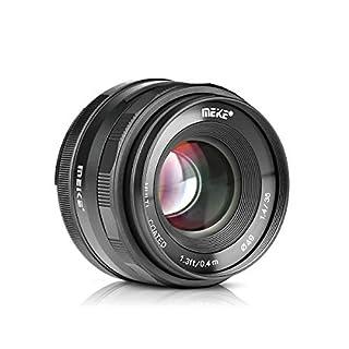 Meike 35mm F1.4 Large Aperture Manual Focus Prime MFT Lens for Micro Four Thirds M43 Olympus and Panasonic Digital Mirrorless Cameras and BMPCC