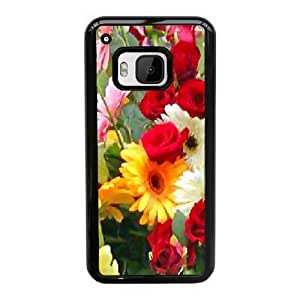 Designed With Sping Flowers Pattern , Fit To HTC One M9
