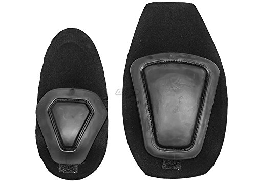 Emerson Tactical Knee & Elbow Pad Set for Gen 2 (Black) (Inserts Knee Emerson Pads)