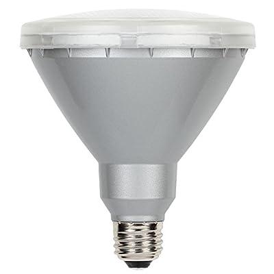 Westinghouse 0311400 15-Watt (Replaces 90-Watt) PAR38 Warm White LED Flood Outdoor Wet Location Light Bulb with Medium Base, 2 Pack