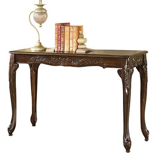 Furniture of America Alice Console Table in Dark Cherry by Furniture of America