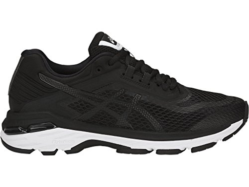 ASICS Women's GT-2000 6 Running Shoe, Black/White/Carbon, 5.5 M US by ASICS (Image #2)