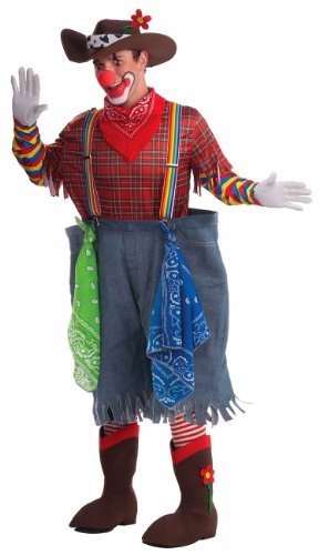 Men's Rodeo Clown Costume, Multi-Colored, One Size (Clown Pants)