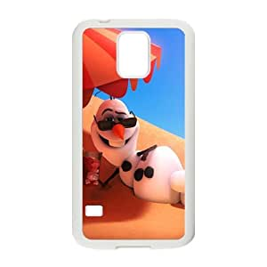 New Style Custom Picture Frozen Snowman Olaf Cell Phone Case for Samsung Galaxy S5