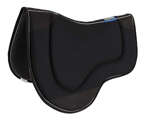 Professional Equine Horse Western Endurance Contoured Neoprene Saddle Pad Black 39189