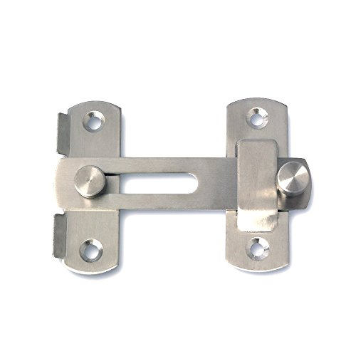 Alise MS9001 Stainless Steel Gate Latches Pet Gate-Latch ...