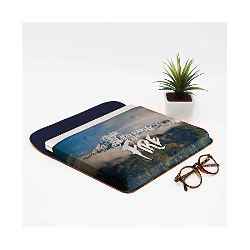 For Envelope Air Sleeve World DailyObjects MacBook Fire Real Set On 13 Leather The Pro nCz0wCAZq