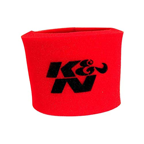 K&N 25-3750 Red Oiled Foam Precleaner Filter Wrap - For Your 25-5500 Round Filter