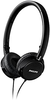 Philips FS3BK/27 On-Ear 3.5mm Wired Headphones