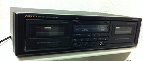 Onkyo TA-RW404 Stereo Double Cassette Player Recorder Deck Dolby System Dual Tape Dolby B-C NR HX Pro Auto Reverse 2 Motor Computer Control - Onkyo Cassette
