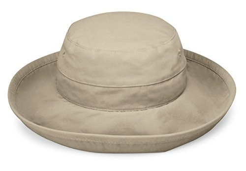Wallaroo Women's Casual Traveler Sun Hat - UPF 50+ - Crushable! Camel