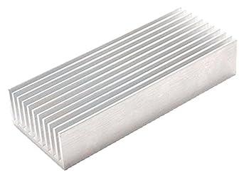 OdiySurveil(TM) 100 x 40 x 20MM Aluminium Heat Diffusion Cooling Fin