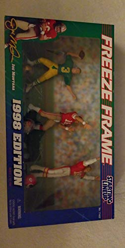 1998 Joe Montana NFL Freeze Frame Starting Lineup Figure