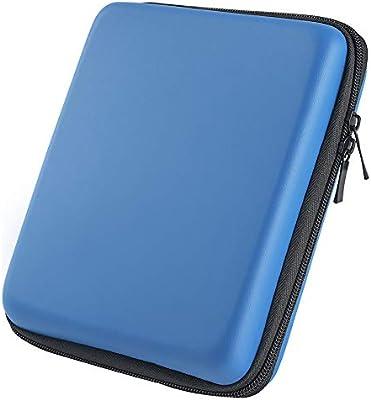 Asiv Duro EVA Protección Almacenamiento Zip Viaje Funda Soporte con Asa de Transporte para Nintendo 2DS Azul: Amazon.es: Electrónica