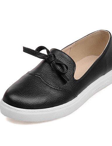 Creepers Zapatos Yellow us8 plataforma Eu39 Zq negro Redonda us10 Amarillo Eu4 Punta Cn39 semicuero Eu42 Uk6 Gyht Casual White Uk8 Vestido Cn43 mocasines 5 plataforma De 5 exterior Mujer Yw45X4a