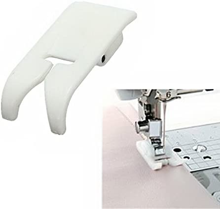 Juki Elna and More! Kenmore New Home Babylock Janome YEQIN Roller Sewing Machine Presser Foot Snap on Foot Fits All Low Shank Snap-On Singer White Euro-Pro Brother Simplicity
