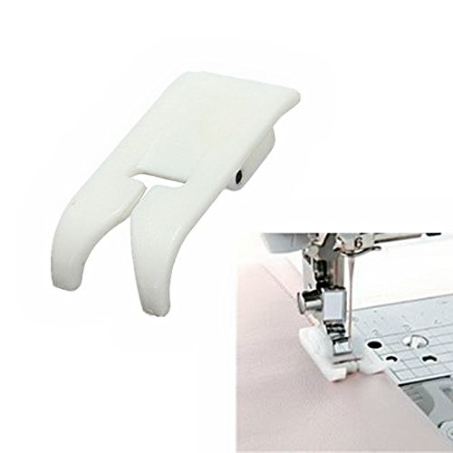 (Kalevel Non-stick Sewing Machine Presser Feet for All Low Shank Snap-on Singer Brother Babylock Euro-pro Janome Kenmore White Juki New Home Simplicity Elna Husqvarna Janome Bernina)