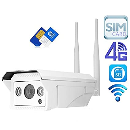 Full HD 1080P 960P HD Bullet Cámara IP inalámbrica gsm 3G 4G SIM Card IP cámara