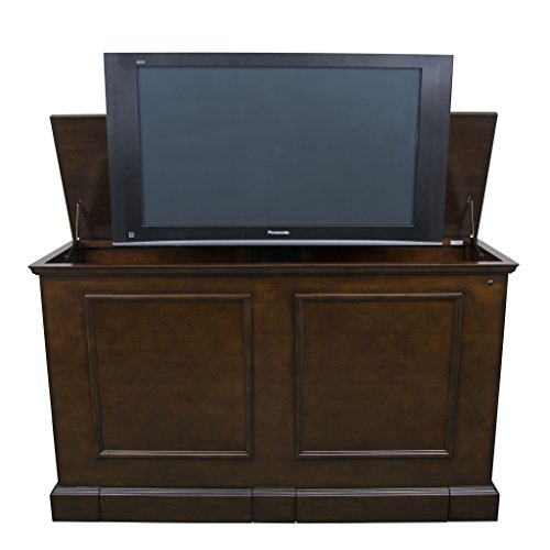 (Touchstone 74008 - Grand Elevate TV Lift Cabinet - Espresso - TVs Up to 65 Inch Diagonal (58.5