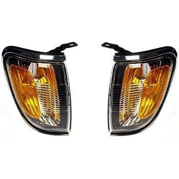 01 02 03 04 Toyota Tacoma Driver Cornerlamp Cornerlight Chrome Trim NEW 81620-04080 TO2520161