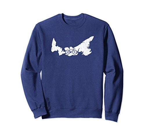 Unisex Canada Prince Edward Island Cycling Gift Sweatshirt G005101 XL: Navy