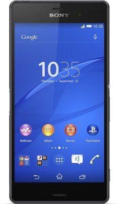 Sony Xperia Z3 D6653 GSM Cellphone Unlocked, International Version No Warranty, Black