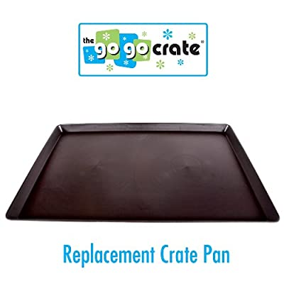 GoGo Pet Products Plastic Dog Crate Replacement Pan/Tray, 48-Inch
