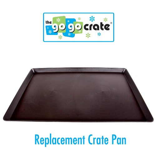 Tray Dog Replacement Crate (GoGo Plastic Dog Crate Replacement Pan/Tray, 42-Inch)