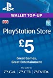 PSN CARD 5 GBP WALLET TOP UP [PSN Code - UK account]