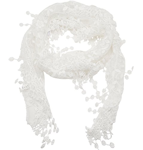 meta-u-womens-lace-triangle-scarf