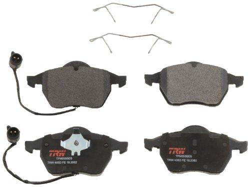 Audi A6 Front Brake (TRW TPM0555ES Premium Front Disc Brake Pad Set)